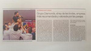 articulo grupo diamonds en periodico mediterraneo
